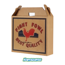 Caja Transportadora para Gallo (Impresa)