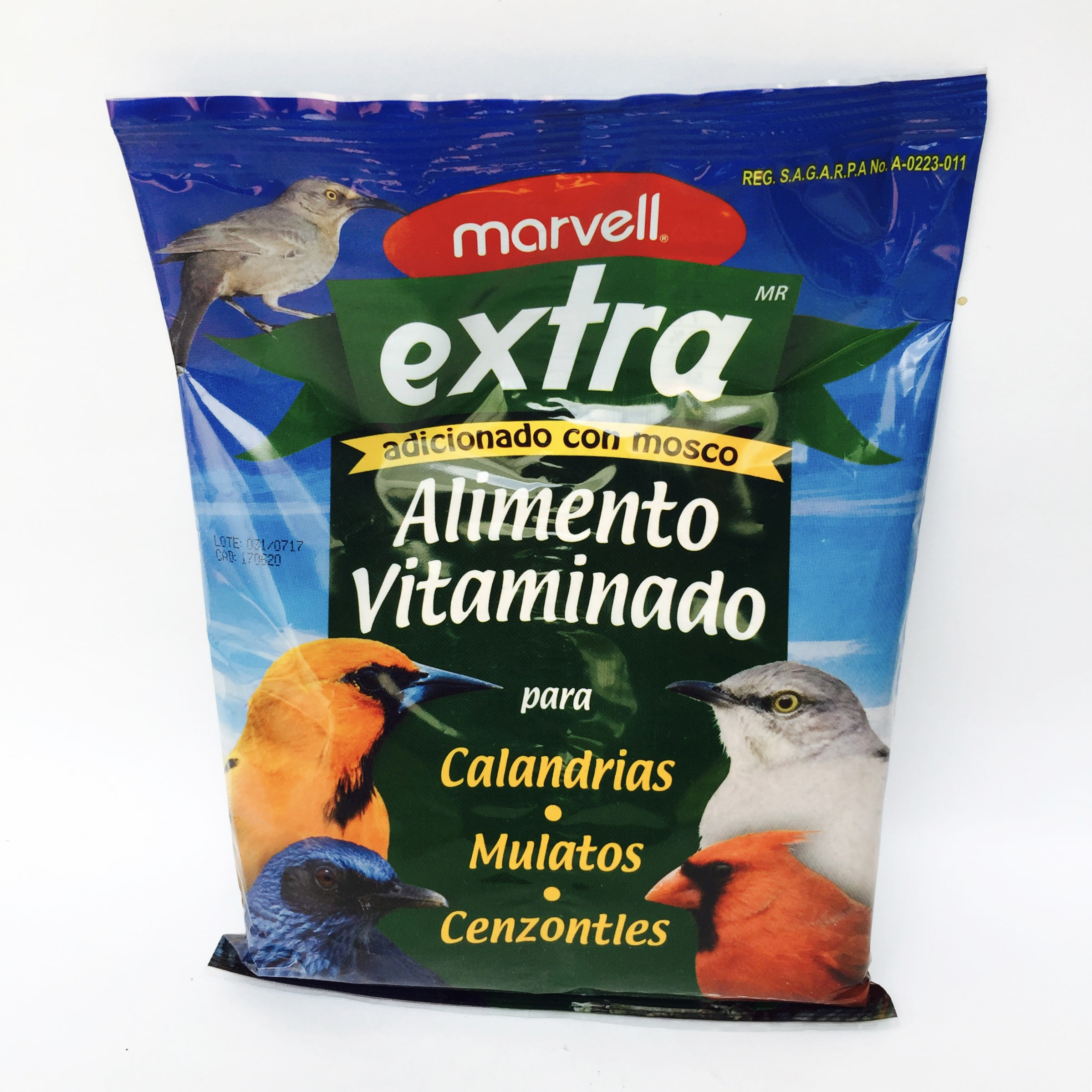 Alimento Extra Aves Silvestres Marvell 500g