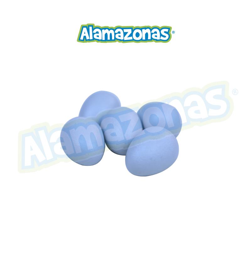 HUEVO DE PLASTICO CANARIO (1PZA) Pedrós Alamazonas