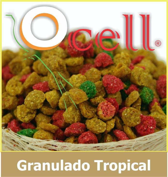 Croquetas Mix Tropical Granulado Para Loros y Guacamayas 500g Ocell Alamazonas
