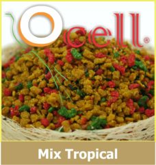 Croquetas Mix Tropical Mini para Aves 500g Ocell Alamazonas