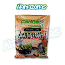 Alimento para Zenzontles 1kg Alamazonas Especificaciones del producto: Alimento especial para Cenzontles, Jilgueros, Calandrias, Huitlacoches, Clarines y Ruiseñores. Está elaborado con materias primas de calidad utilizando premezclas desarrolladas con Biotecnología Aplicada que permiten obtener mayor digestibilidad y aprovechamiento de los nutrientes para sus aves. Infomación nutrimental: Proteína mínima: 17.15 % Grasa mínima: 1.99 % Fibra máxima: 7.47 % Ceniza máxima: 3.78 % Humedad máxima: 7.47 % E. L. N.: 62.14 %