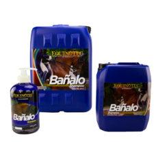 BAÑALO SHAMPOO y acondicionador reestructura el pelo Equinotec Alamazonas Shampoo y acondicionador reestructura el pelo, limpia y acondiciona dejándolo suave y con brillo, PH especial para caballos.